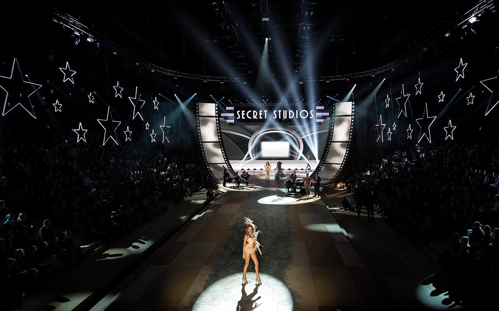 Victoria's Secret Fashion Show 2012 Scenographie