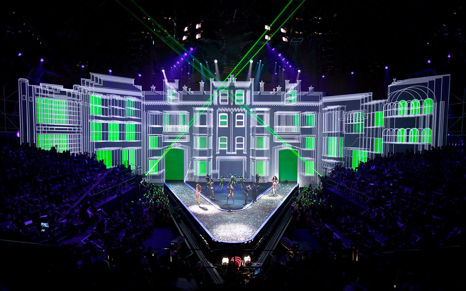 Victoria's Secret Fashion Show 2009 Scenographie