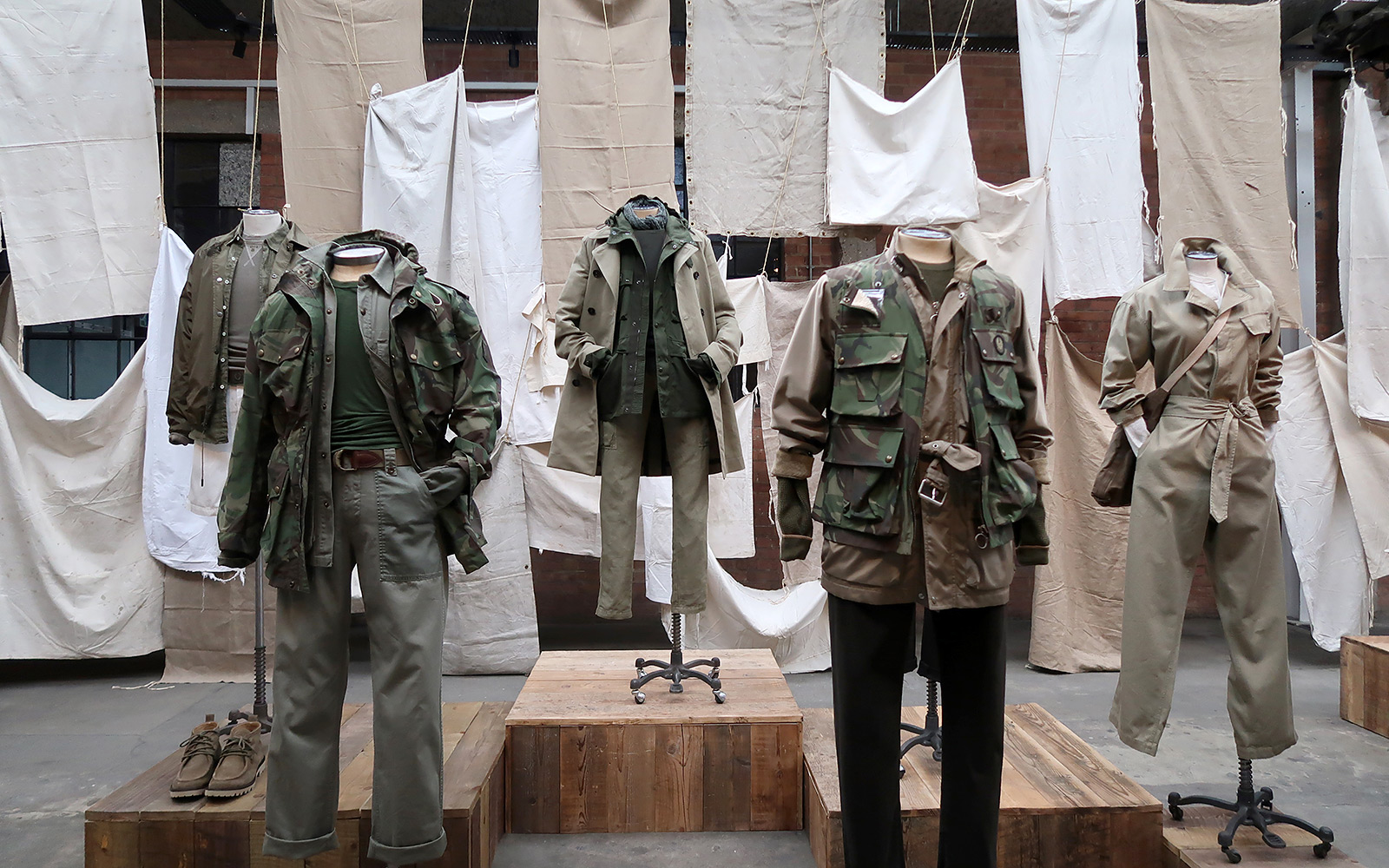 Belstaff SS2020 Scenography